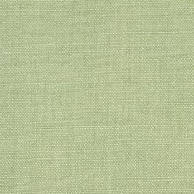 Linseed Solid - Light Green - Seafoam coloured fabric blended from a mixture of linen and poylamide