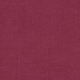 Linseed Solid - Magenta - Rich, deep magenta coloured linen and polyamide blend fabric