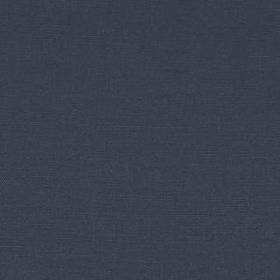 Linseed Solid - Midnight - Versatile navy blue coloured linen and polyamide blended together into a plain fabric