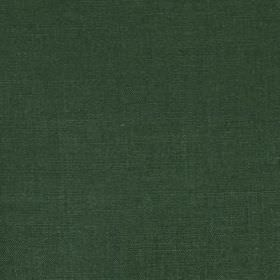 Linseed Solid - Pine - Very dark forest green coloured fabric made from linen and polyamide