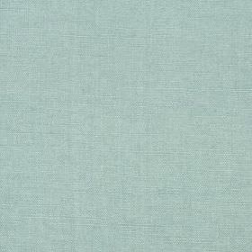 Linseed Solid - Pool - Powder blue coloured fabric made from a blend of linen and polyamide