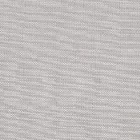 Linseed Solid - Silver - Fabric made from a light lilac coloured combination of linen and polyamide