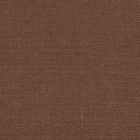 Linseed Solid - Teak - Luxurious reddish brown coloured fabric woven using both linen and polyamide threads