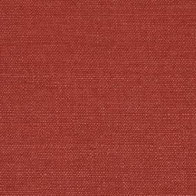 Linseed Solid - Vermillion - Fabric made from linen and polyamide in a luxurious shade of deep claret red