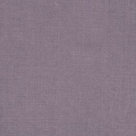 Linseed Solid - Violet - Lavender coloured fabric blended from both linen and polyamide