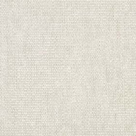 Flax Rib - Light Natural - Linen and cotton blend fabric woven in a plain, pale grey-white colour