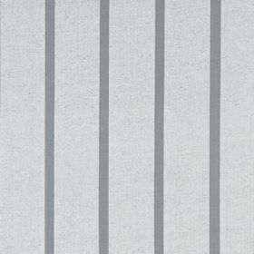Masala Stripe - Silver Coal - Grey stripes printed in a thin, simple, vertical design on cotton and linen blend fabric in a lighter shade of