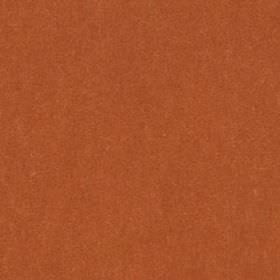 Plush Mohair - Burnt Orange - Fabric made from a combination of mohair and cotton in rich brick red