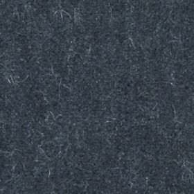 Plush Mohair - Coal - Very dark navy blue coloured fabric blended from mohair and cotton, featuring a few paler, subtle flecks