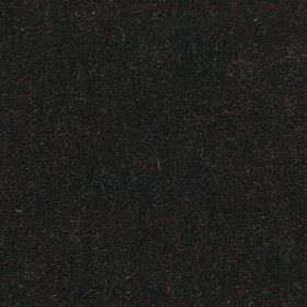 Plush Mohair - Mahogany - Black fabric made from a plain, striking blend of mohair and cotton