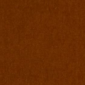 Plush Mohair - Mango - Mohair and cotton blended together into a plain fabric in a rich reddish brown colour