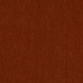 Plush Mohair - Redwood - Fabric made from a rich red-brown coloured blend of mohair and cotton
