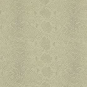 Mia - Ivory - Very subtly patterned wool and silk blend fabric made with a reptile skin style pattern in very pale shades of grey