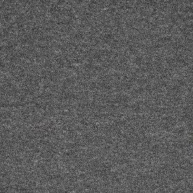 Fine Boucle - Dark Grey - Slightly speckled fabric made from various different materials in dark and light shades of blue-grey