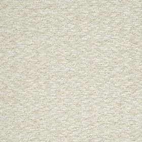 Halifax Solid - Eggshell - Fabric made from light pale grey-white coloured viscose, wool and mohair, finished with a textured bouclé effect