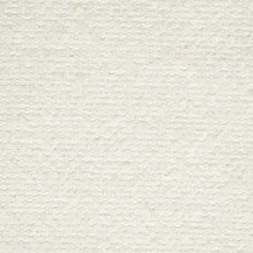 Mohair Boucle - Ivory - Bright white fabric woven with a mixed wool, polyester, cotton, acrylic and nylon content