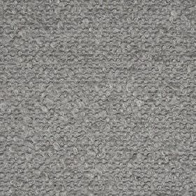 Mohair Boucle - Warm Grey - Wool, polyester, cotton, acrylic and nylon blend fabric woven in a contemporary chrome grey colour