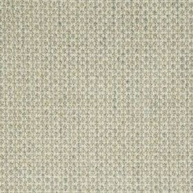 Pebble Weave - Stone - Several different materials woven together into a fabric using threads in classic white and very pale grey colours