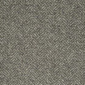 Terrazzo Weave - Warm Grey - Fabric made from acrylic, polyester and cotton, featuring a stylish, classic herringbone pattern in dark and li