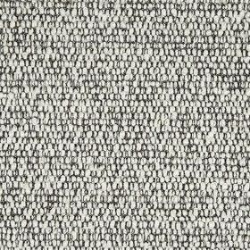 Faye Boucle - Black And White - Wool and nylon blend fabric woven from black and white coloured threads