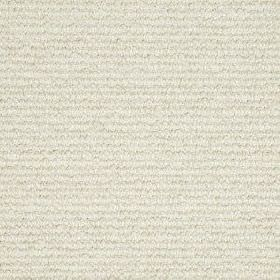 Faye Boucle - Natural - Fabric made from wool and nylon, woven using threads in classic milk white