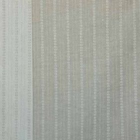 Ebury - Taupe - 100% linen fabric made in 2 different light shades of grey, featuring a design of very small dots arranged in neat lines