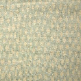 Kemble Reversible - Light Blue - A pattern of small smudges scattered over fabric blended from cotton and viscose in light shades of cream a