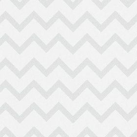 The Chevron - Pistachio - Zigzag patterned fabric made from bleached linen in a very pale shade of grey as well as white