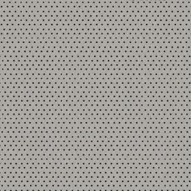 The Dot - Night - Tiny black dots arranged in rows over battleship grey coloured fabric made from natural linen