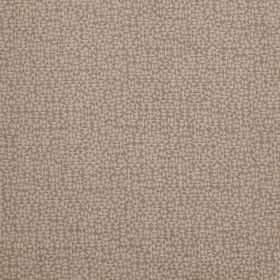 E - Natural - 100% linen fabric covered with a tiny design of triangles in light grey and a pale shade of brown