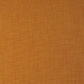 Alto - Honey - Fabric made from 100% linen in rich burnt orange