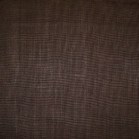 Alto - Chocolate - Fabric made from 100% linen in a very dark brown-black colour