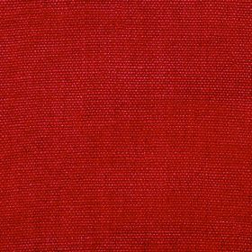 Range - Ruby - Bold chili red coloured fabric made from 100% linen