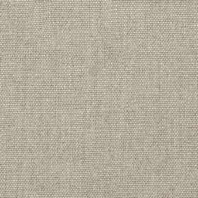 Range - Natural - Chrome coloured 100% linen threads woven into a plain fabric