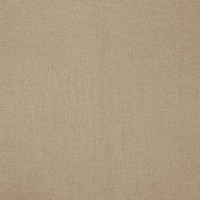 Soho - Natural - Fabric made from 100% linen in a plain grey-brown colour