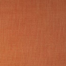 Alto - Coral - Plain terracotta coloured fabric made entirely from linen