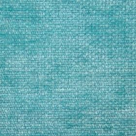 Cognac - Blue - Fabric with a slight texture and a patchy bright aqua blue colour