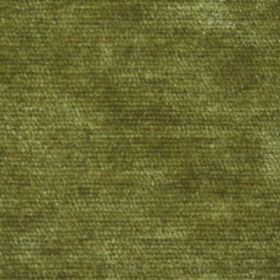 Cognac - Green - Mottled grass green fabric with a slightly textured pile