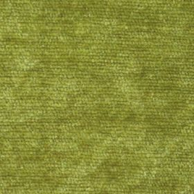 Cognac - Green - Fabric with a thick pile, giving the lime green colour a mottled effect finish