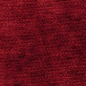 Cognac - Red Orange - Rich red coloured fabric which has been smudged with a darker red-black shade