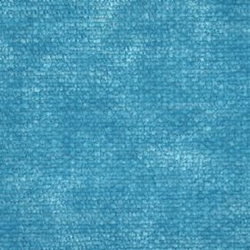 Cognac - Blue - Aqua blue fabric with a slight texture and mottled effect