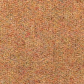 Hebrides - Gold - Orange coloured mottled fabric, with elements of yellow and grey as well