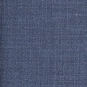 Limburg - Blue - Viscose, wool, nylon and cotton blended together into a plain fabric in a bright shade of denim blue