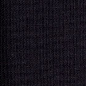 Limburg - Black - Viscose, wool, nylon and cotton blend fabric made in very dark midnight blue