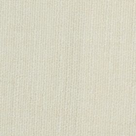 Limburg - White - Plain pearl white coloured fabric blended from a mixture of viscose, wool, nylon and cotton