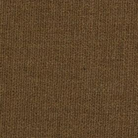 Limburg - Brown - Dark chocolate brown coloured fabric woven from a blend of viscose, wool, nylon and cotton