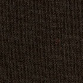 Limburg - Brown - Viscose, wool, nylon and cotton blend fabric made in a jet black colour