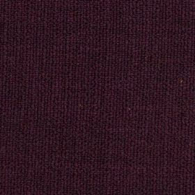 Limburg - Aubergine Purple - Woven fabric containing a blend of viscose, wool, nylon and cotton in a very dark, indulgent shade of purple