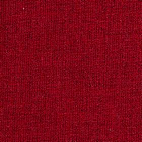 Limburg - Red - Rich, indulgent fabric in glamorous ruby red with a few slightly darker threads, made from viscose, wool, nylon & cotton