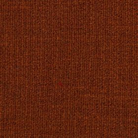 Limburg - Orange Red - Light and dark shades of reddish brown woven together into a viscose, wool, nylon and cotton blend fabric